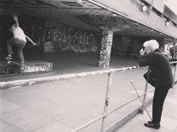 Street photographer, Best generation gap example in urban London